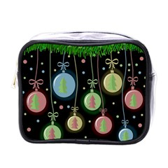 Christmas Balls   Pastel Mini Toiletries Bags by Valentinaart