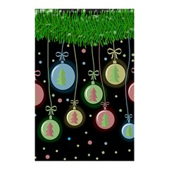 Christmas Balls   Pastel Shower Curtain 48  X 72  (small)  by Valentinaart