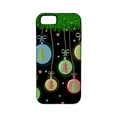 Christmas balls - pastel Apple iPhone 5 Classic Hardshell Case (PC+Silicone)