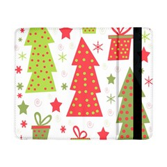Christmas Design   Green And Red Samsung Galaxy Tab Pro 8 4  Flip Case by Valentinaart