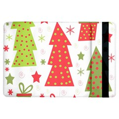 Christmas Design   Green And Red Ipad Air Flip by Valentinaart