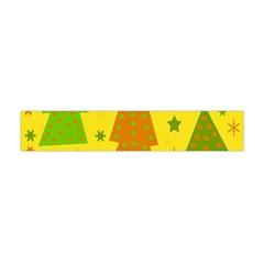 Christmas Design   Yellow Flano Scarf (mini) by Valentinaart