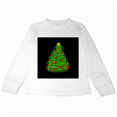 Christmas Tree Kids Long Sleeve T Shirts