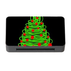 Christmas Tree Memory Card Reader With Cf by Valentinaart