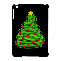 Christmas Tree Apple Ipad Mini Hardshell Case (compatible With Smart Cover) by Valentinaart