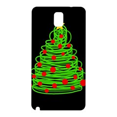 Christmas Tree Samsung Galaxy Note 3 N9005 Hardshell Back Case by Valentinaart