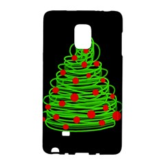 Christmas Tree Galaxy Note Edge by Valentinaart