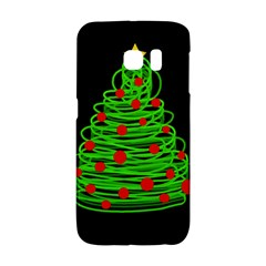 Christmas Tree Galaxy S6 Edge by Valentinaart