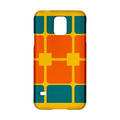 Squares And Rectangles                                                                                               samsung Galaxy S5 Hardshell Case by LalyLauraFLM
