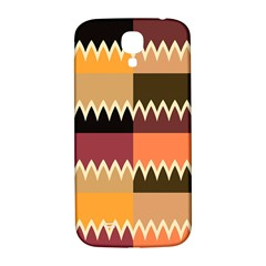 Chevrons In Squares                                                                                                			samsung Galaxy S4 I9500/i9505 Hardshell Back Case by LalyLauraFLM