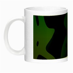 Black Spots On A Gradient Background                                                                                                  Night Luminous Mug by LalyLauraFLM