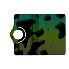 Black Spots On A Gradient Background                                                                                                 			kindle Fire Hd (2013) Flip 360 Case by LalyLauraFLM