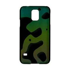 Black Spots On A Gradient Background                                                                                                 			samsung Galaxy S5 Hardshell Case by LalyLauraFLM