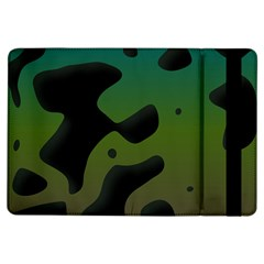 Black Spots On A Gradient Background                                                                                                 			apple Ipad Air Flip Case by LalyLauraFLM
