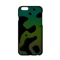 Black Spots On A Gradient Background                                                                                                 			apple Iphone 6/6s Hardshell Case by LalyLauraFLM