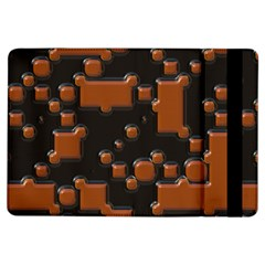 Brown Pieces                                                                                                 apple Ipad Air Flip Case by LalyLauraFLM