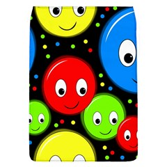 Smiley Faces Pattern Flap Covers (l)  by Valentinaart