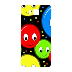 Smiley Faces Pattern Samsung Galaxy Alpha Hardshell Back Case by Valentinaart
