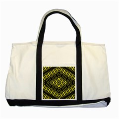 Yyyyyyyyy Two Tone Tote Bag by MRTACPANS