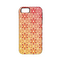Orange Ombre Mosaic Pattern Apple Iphone 5 Classic Hardshell Case (pc+silicone) by TanyaDraws