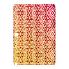 Orange Ombre Mosaic Pattern Samsung Galaxy Tab Pro 12 2 Hardshell Case by TanyaDraws