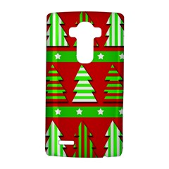 Christmas Trees Pattern Lg G4 Hardshell Case by Valentinaart