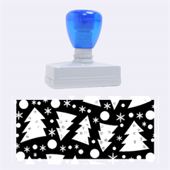 Twisted Christmas Trees Rubber Stamps (large) by Valentinaart