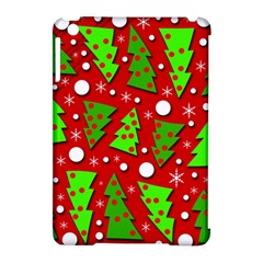 Twisted Christmas Trees Apple Ipad Mini Hardshell Case (compatible With Smart Cover) by Valentinaart