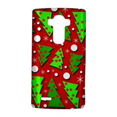 Twisted Christmas Trees Lg G4 Hardshell Case by Valentinaart