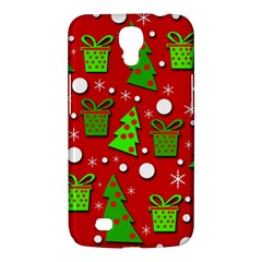 Christmas Trees And Gifts Pattern Samsung Galaxy Mega 6 3  I9200 Hardshell Case by Valentinaart