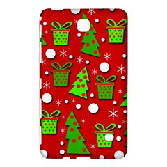 Christmas Trees And Gifts Pattern Samsung Galaxy Tab 4 (8 ) Hardshell Case