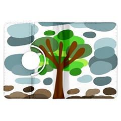 Tree Kindle Fire HDX Flip 360 Case by Valentinaart