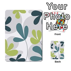 Elegant Floral Design Multi Purpose Cards (rectangle)
