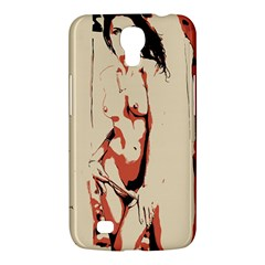 39 Sexy Conte Sketch Girl In Room Naked Boobs Nipples Pussy Samsung Galaxy Mega 6 3  I9200 Hardshell Case by PeterReiss