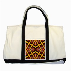 Titre Terre Two Tone Tote Bag by MRTACPANS