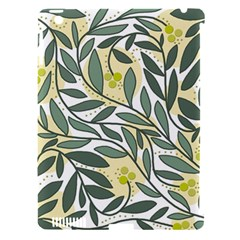 Green Floral Pattern Apple Ipad 3/4 Hardshell Case (compatible With Smart Cover) by Valentinaart