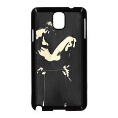 22 Sexy Conte Sketch Girl In Dark Room Naked Boobs Ass Butt Samsung Galaxy Note 3 Neo Hardshell Case (black) by PeterReiss