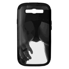 9 Bondage Oil Paint Girl Standing In Shadows Ass Butt Samsung Galaxy S Iii Hardshell Case (pc+silicone) by PeterReiss
