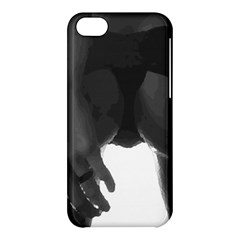 9 Bondage Oil Paint Girl Standing In Shadows Ass Butt Apple Iphone 5c Hardshell Case by PeterReiss
