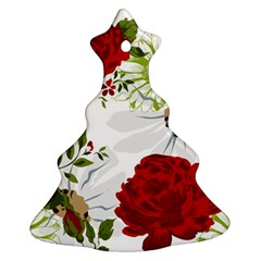 Red roses Ornament (Christmas Tree) by fleurs