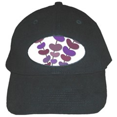 Purple Decorative Plant Black Cap by Valentinaart