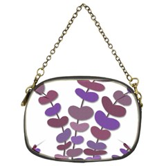Purple Decorative Plant Chain Purses (two Sides)  by Valentinaart