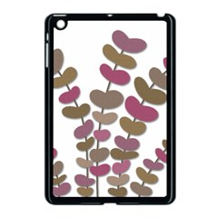 Magenta decorative plant Apple iPad Mini Case (Black) by Valentinaart