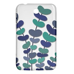 Blue Decorative Plant Samsung Galaxy Tab 3 (7 ) P3200 Hardshell Case  by Valentinaart