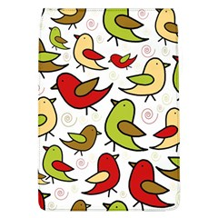 Decorative Birds Pattern Flap Covers (l)  by Valentinaart