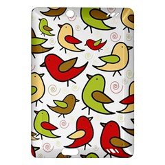Decorative Birds Pattern Amazon Kindle Fire Hd (2013) Hardshell Case by Valentinaart