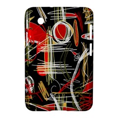Artistic Abstract Pattern Samsung Galaxy Tab 2 (7 ) P3100 Hardshell Case  by Valentinaart