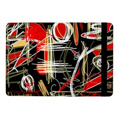 Artistic Abstract Pattern Samsung Galaxy Tab Pro 10 1  Flip Case by Valentinaart