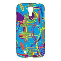 Colorful Abstract Pattern Samsung Galaxy S4 I9500/i9505 Hardshell Case by Valentinaart