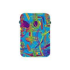 Colorful Abstract Pattern Apple Ipad Mini Protective Soft Cases by Valentinaart